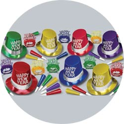 42nd street assortment 88256-50 new years party kit