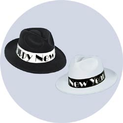 swing new years hats
