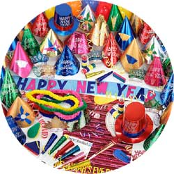 centurion assortment 88474-100 new years party kit