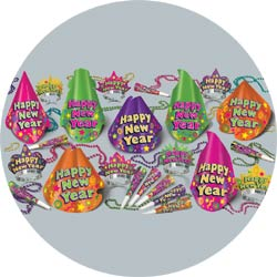 color brite assortment 88575-50 new years party kit