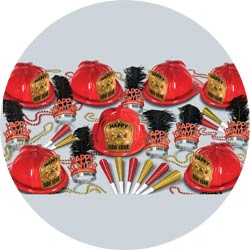 new year fire chief assortment 88583-50 new years party kit