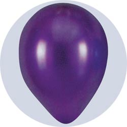 pearlized purple latex balloons